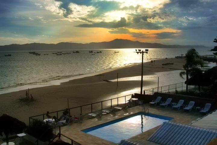 Florianópolis, praia da Ponta das Canas – SC