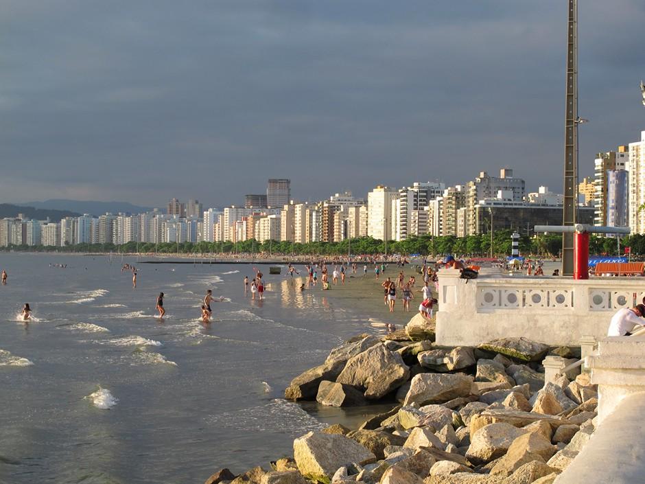 Ponta da Praia, Santos – SP